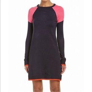 Eliza J. Colorblock Sweater Dress